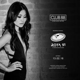 Rota 91 - 13/02/2016 - Convidado - Club 88