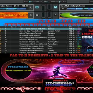 Fab vd M Presents A Trip To The Trance World Episode 18 Season 11 Remixed