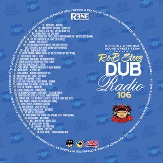 Dub Radio #106 (Rhythm and Blues/Hip-Hop) - Full Mix - 2016