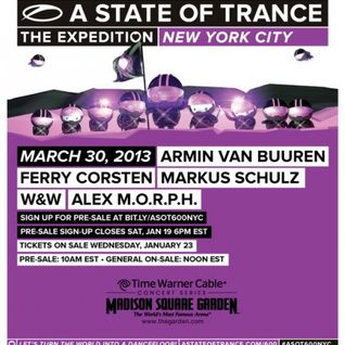 Ferry Corsten & Markus Schulz - Live @ A State of Trance 600 New York - 30.03.2013