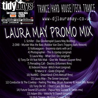 Laura May - Dreamland Promo Mix November 14