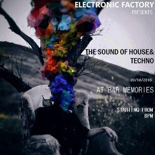 Milos Bogdanovic b2b Aleksandar Josifov @ Electronic Factory 09.10.16
