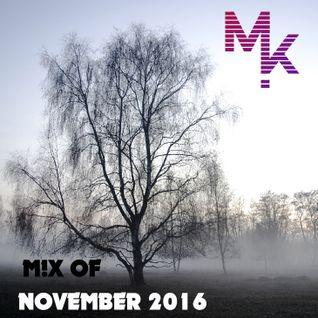 November Mix 2016 (mixed by MARV!N K!M)
