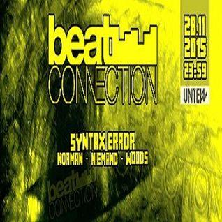 Syntax Error @ Snorky Beatconnection Night - Unten Kassel - 28.11.2015