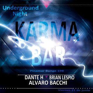 Brian Lespio Live @ Karma Bar [Rec Preview 22 06 2013]