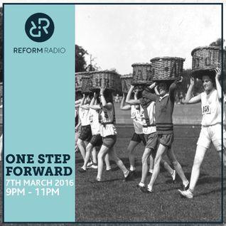 One Step Forward 7th March 2016