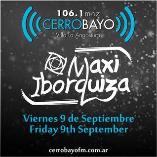 Maxi Iborquiza @ Cerro Bayo - Viernes 9 Septiembre | Friday 9th September