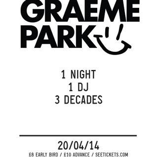 This Is Graeme Park: One Night One DJ Three Decades Liverpool Promo Live DJ Mix 14APR14