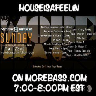 Houseisafeelin on More Bass 8 (05/22/16)