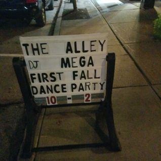 Dj Mega - Live at Center st Alley - Friday night dance Party -  09-24-2016