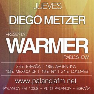 Diego Metzer - Warmer RadioShow #044 (14 Ago 2014)