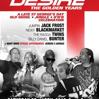 Billy 'Daniel' Bunter & The Ragga Twins - Desire 'The Golden Years' - Dukebox - 27.4.13