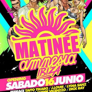 Taito Tikaro - Live @ Matinee Opening Party, Ibiza (Part 2) (16-06-2012)