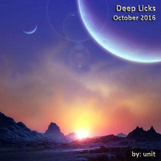Deep Licks October 2016
