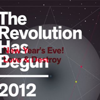 600sto900 - 2012 - The Revolution Has Begun - New Year's Eve! INQbator @ promo mix