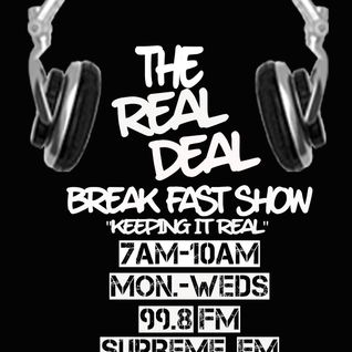 September 17th The Real Deal Breakfast Show