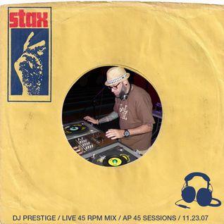 FleaMarket Funk LIVE @ The Asbury Park 45 Sessions 11.23.07