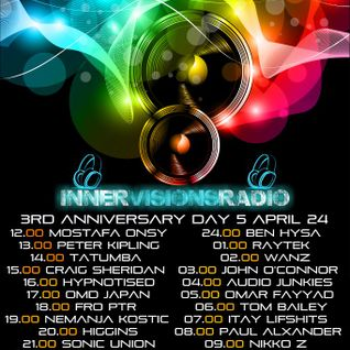 Fro Ptr's guest mix for the 3rd Anniversary of innervisions radio-24 April 2013