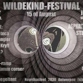 Ignite & Stefan ZMK @ Wildekind Festival @ Spiegeltent Belgium 2014 [acidcore|hardcore|tekno]