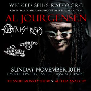 The Snuff Monkey Show [ Special ] Al Jourgensen talks to Phlis (Alteria Anarchy) and Snuff