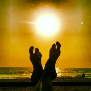 DJ Simon Baring - Sunset in Soma, Goa 2013