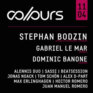 Dominic Banone @ COLOURS 11.04.2015 (Tanzhaus West, Frankfurt)