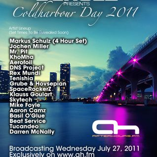 Coldharbour Day 2011 Hour 1 on Afterhours.fm - July 2011