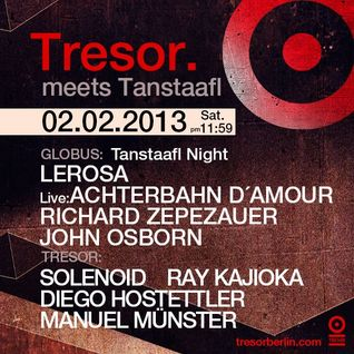 Ray Kajioka - DJ Set @ Tresor 2013-02-02