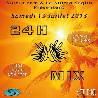 Mitch' A. @ 24H Mix studio Rom Strasbourg [14/07/2013]