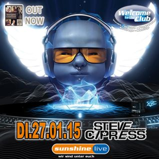 Steve Cypress @ Radio Sunshine Live - Welcome To The Club 27-01-2015