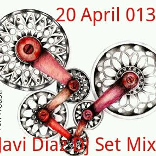 Javi Diaz Dj set mix April 013 Tech House