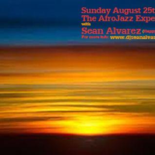 The AfroJazz Experience Virgo B-Day Celebration Promo Mix for Sunday 8-25-13 (Pt.1)