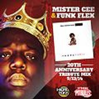Ready To Die 20th Anniversary Tribute Mix (9-13-15) w/ @DJMISTERCEE & @Funk Flex