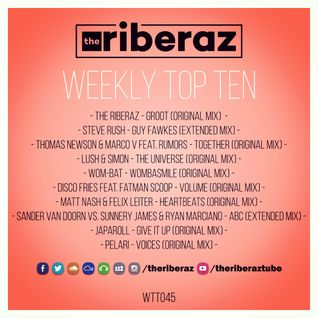 The Riberaz Weekly Top Ten 045