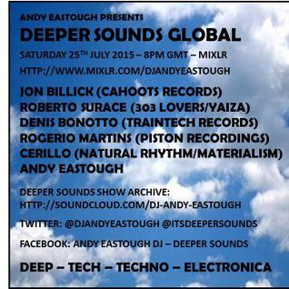 Deeper Sounds Radio Show pres. Jon Billick [July 25, 2015]