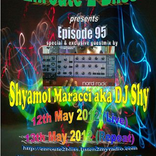 Enroute 2 Bliss ep 95 with special guestmix by DJ Shy-13.05.2012