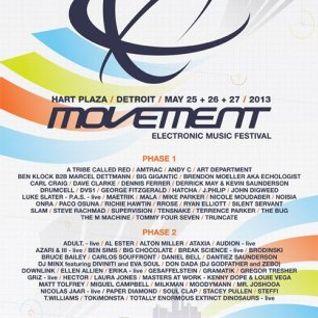 Mike Parker @ Movement Festival Detroit - Hart Plaza Day 3 (27-05-2013)