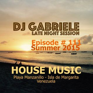 Episode # 111 House Music Mix By Dj Gabriele 2015