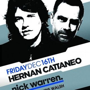 Nick Warren & Hernan Cattaneo - Live at Sound Bar, Chicago (16-12-2011)
