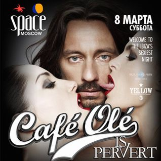 Rafha Madrid - Live @ Cafe Ole, Space Moscow - 08.03.2014