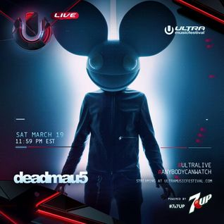 deadmau5 - Live @ Ultra Music Festival 2016 (Day 2) [Free Download]