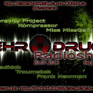 Dreadkick @ Mehr Druck on 130BPM Radio 20.07.2013