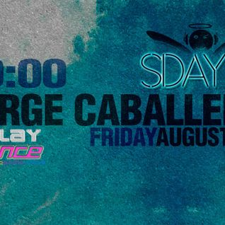 Jorge Caballero Live Guest Mix @Solotrance Day Agosto - 2013