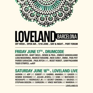 Bart Skils - Live @ Loveland Drumcode, Off Week Port Forum (Barcelona, ES) - 17.06.2016