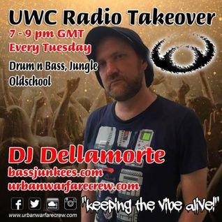 UWC Radio Takeover -  DJ Dellamorte - Urban Warfare Crew 19/07/16