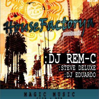 Steve Deluxe warm up @ HouseFactorya Records Night, Magic Music Pub (2013.09.14.)