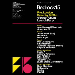 Jimmy Van M - Bedrock 15, ETUM FIRE Promo Mix (30-09-2013)
