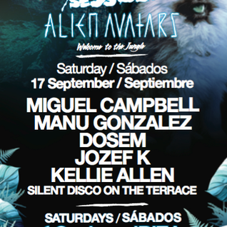 Miguel Campbell @ Tribal Sessions - Sankeys Ibiza - 17-09-2016