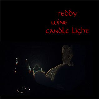 Teddy, Wine And A Candle