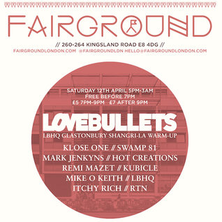 FAIRGROUND X LOVEBULLETS MIX : ITCHY RICH / RTN